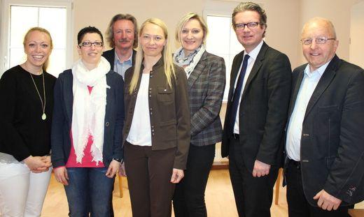 Pia Englert, Kerstin Groß, Harald Gaugg, Doris Klug, Christine Gantschnigg, Christopher Drexler, Walter Gaich