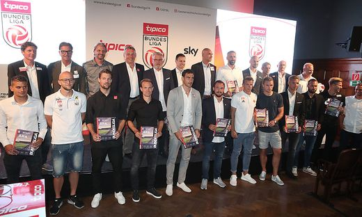 Die Bundesligatrainer und ihre Kapitäne