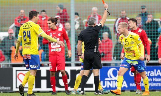 SOCCER - 2.Liga, Lafnitz vs GAK
