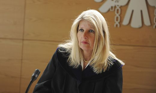 Sabine Anzenberger führte die Verhandlung