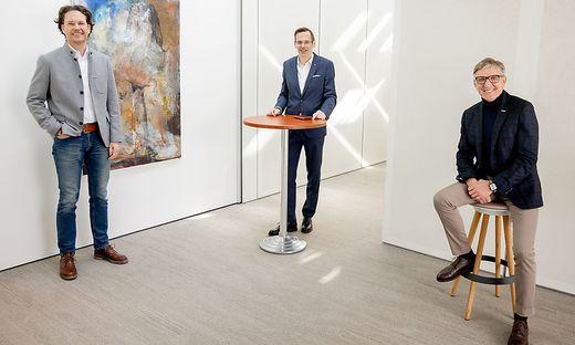 Hans Lercher, Oliver Kröpfl, Josef Herk