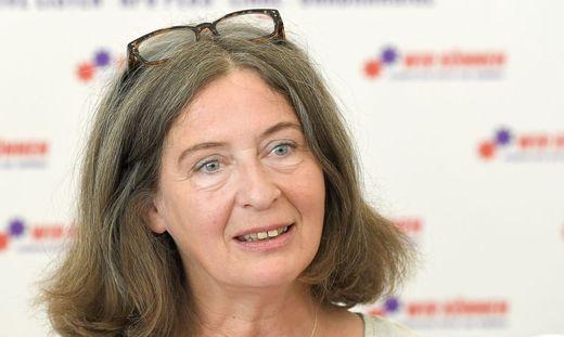 Elke Kahr kandidiert auf Platz 2 für das Bündnis 'Alternative Listen, KPÖ Plus, Linke und Unabhängige',  Kurzbezeichnung KPÖ