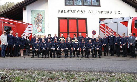 36 Kameradinnen und Kameraden sind derzeit bei der FF St. Thomas am Zeiselberg aktiv