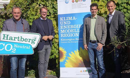 Johann Winkler, Marcus Martschitsch, Harald Messner und Anton Schuller ist der Klimaschutz ein Anliegen