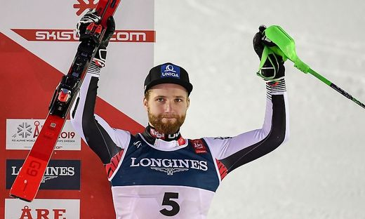 ALPINE SKI-WORLD-MEN-SWE-SLALOM-COMBINED