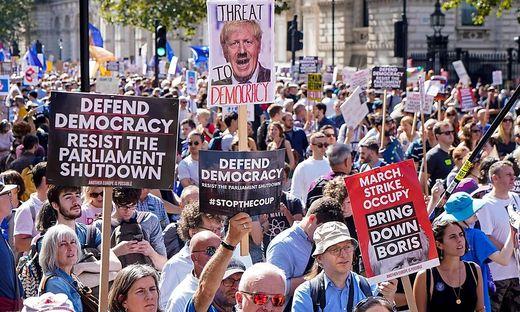 Der Brexit entzweit die britische Gesellschaft