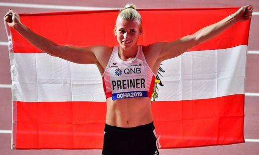 Verena Preiner holte Bronze