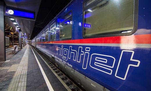 Die ÖBB setzen europaweit Nachtzüge ein