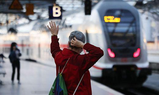 Streik im Personenverkehr der Deutschen Bahn hat begonnen