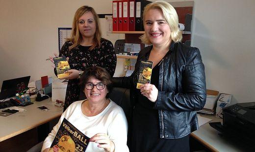 Von links: Tamara Kokal, Evelin Pircer, Eva Hoisl-Stern