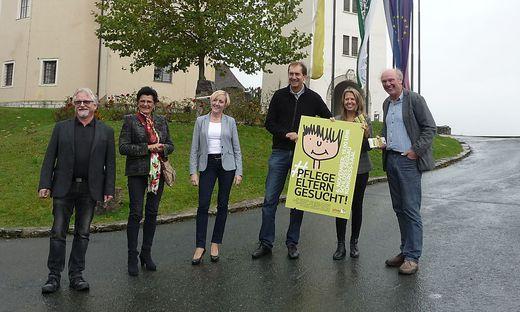 Martin Ofner, Ursula Malli, Elke Halbwirth, Wolfgang Klemencic, Uli Reimerth und Josef Zotter