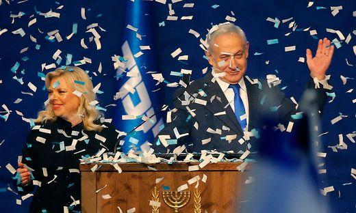 Netanjahu gewann die Wahl