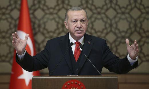 Der türkische Präsident Erdoğan gibt sich plötzlich versöhnlich