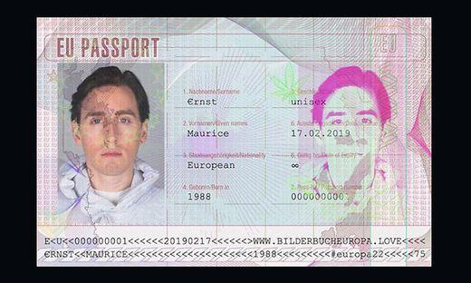 Maurice Ernst und sein EU-Pass