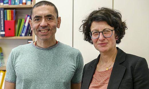 Biontech-Gründer: Ugur Sahin und Özlem Türeci