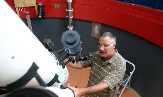 Astronomie war eine große Leidenschaft von Manfred Posch