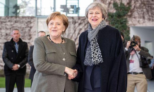 Merkel empf�ngt May