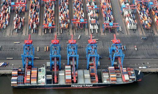 Im Bild: der Hamburger Hafen