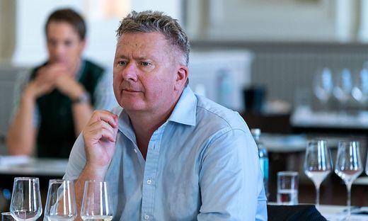 Österreich-Wein-Marketing-Geschäftsführer Chris Yorke