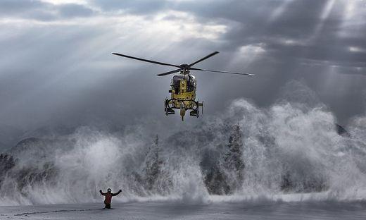 Hubschrauber im Einsatz (Archivfoto)