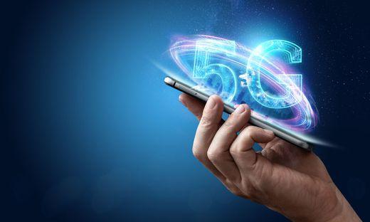 """5G"" nennt sich der aktuellste Mobilfunk-Standard"