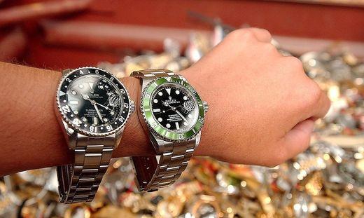 Uhren im Wert von fast einer Millionen wurden gestohlen