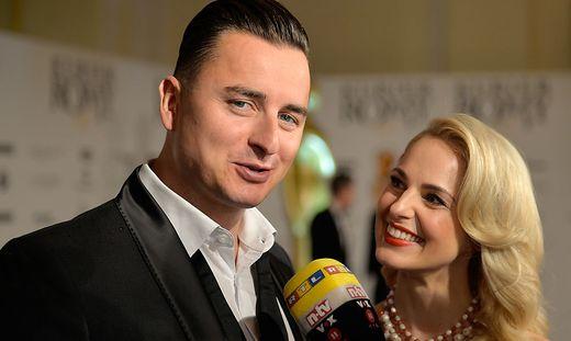 Ein Bild Andreas Gabalier mit Siliva Schneider