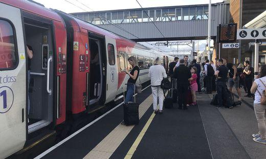 Stehende Züge in London