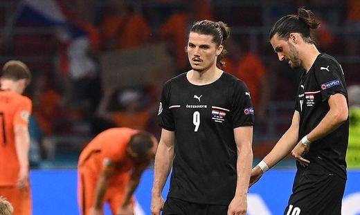 Marcel Sabitzer (links) und Co. mussten eine Niederlage einstecken