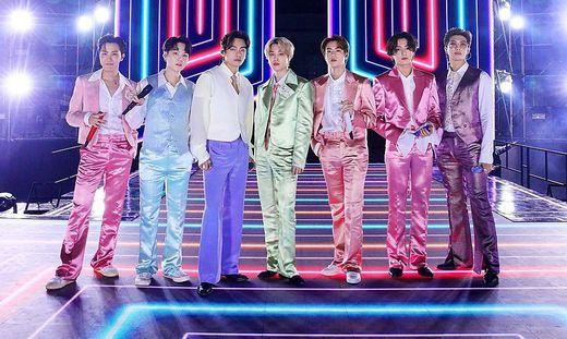 BTS steigen auf Platz 1 der US-Charts ein