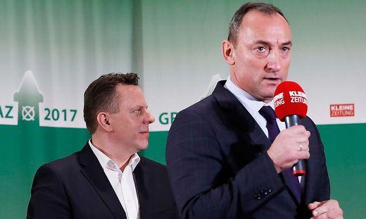 GR-Wahl Graz 2017 - Diskussion mit Spitzenkandidaten