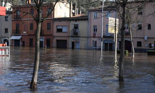SPAIN-WEATHER-CLIMATE-STORM-GLORIA