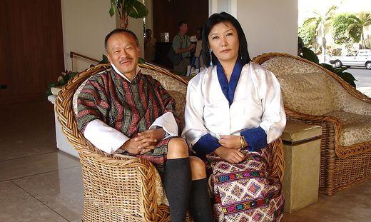 """Im Vorjahr kam Jigme Thinley, """"Glücks-Ministerpräsident"""" von Bhutan"""