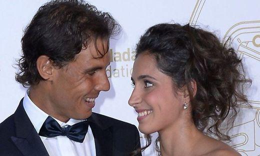 Maria Francisca Perello mit Rafael Nadal