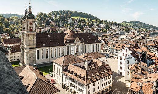 Der Stiftsbezirk St. Gallen zählt zum UNESCO Weltkulturerbe