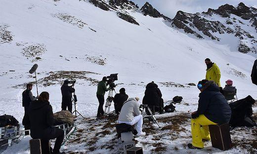 Die Filmcrew bestand aus rund 60 Teammitgliedern