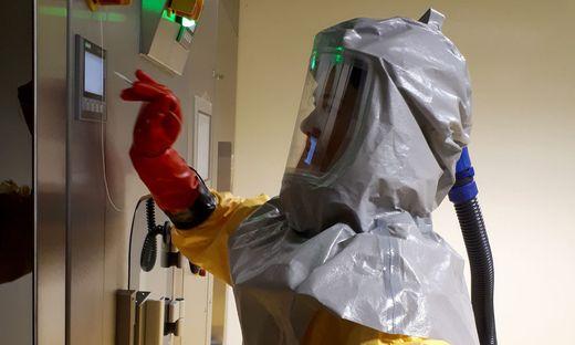 CORONAVIRUS: SPEZIALLABOR FUeR HOCHINFEKTIOeSES MATERIAL IN GRAZ