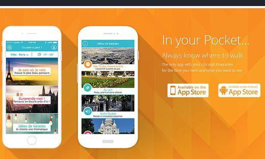 """Französische App """"Pretty Streets"""""""