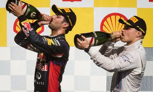 Ricciardo gewann das Training, Bottas verlängerte
