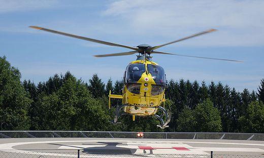 Vom Hubschrauber aus wurde der verirrte Schwammerlsucher gesichtet
