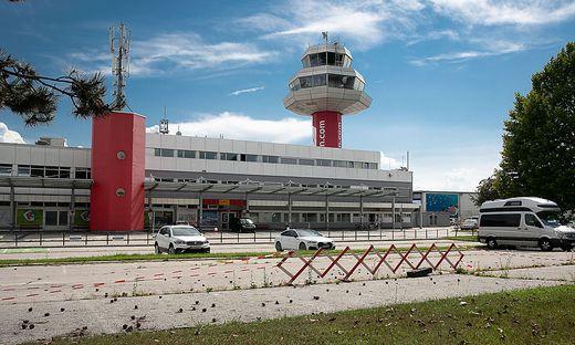 Noch nichts zu sehen ist in Annabichl vom groß angekündigten neuen Airport