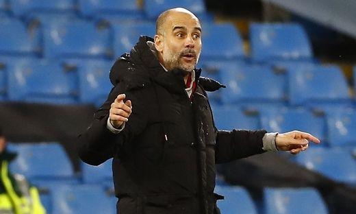 Pep Guardiola muss sich etwas einfallen lassen