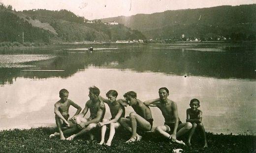 """Der """"Lange Teich"""" in der Südsteiermark war damals ein beliebtes Ausflugsziel für Jung und Alt"""