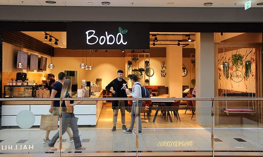 In den City Arkaden gibt es jetzt auch einen Bubble Tea-Laden.