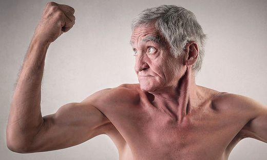 Starke Muskeln, längeres Leben