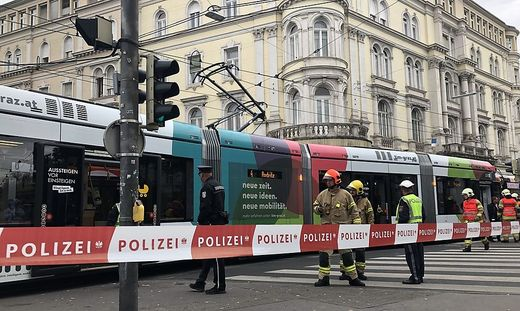 Unfall bim Graz