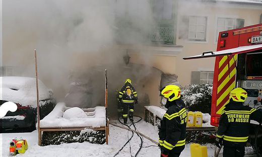 Brand in Bad Aussee