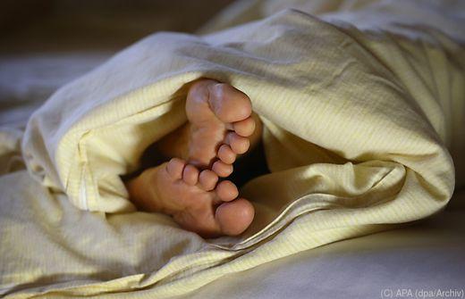 Österreicher schlafen lange, aber schlecht