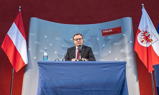 Tirols Landeshauptmann Günther Platter
