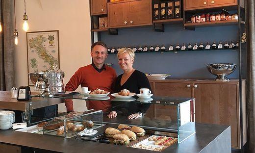 Evelyn und Carmelo Faranda vom Talianu am Lendplatz